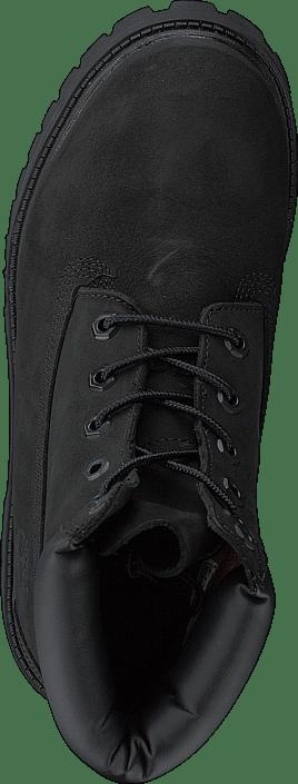 6 Inch Premium Waterproof Black Nubuck Mono