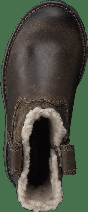 Asphalt Trail Warm-Lined CA1BSC Dark Brown Full-Grain w Suede
