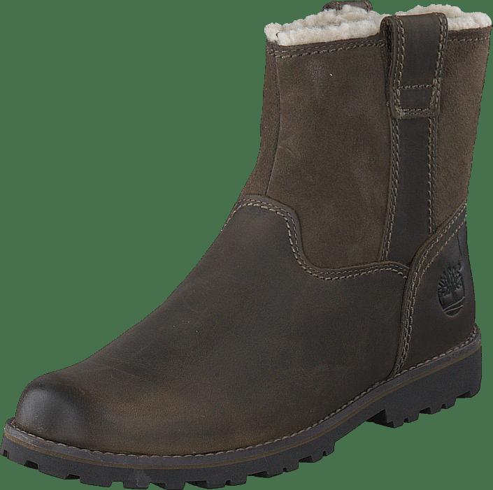 Asphalt Trail Warm-Lined CA1BSN Dark Brown Full-Grain w Suede