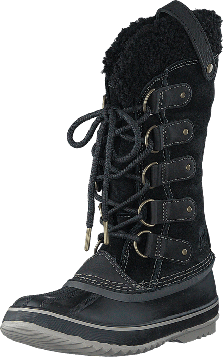 Sorel - Joan of Arctic Shearling 011 Black Stone