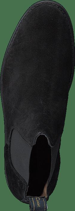 Cavalet Braxton Suede Black Chaussures Homme