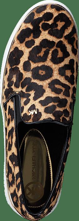 cc05b401d38 Koop MICHAEL Michael Kors Kyle Slip On Leopard bruine Schoenen ...