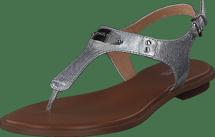9c2c3a64c38 Koop MICHAEL Michael Kors MK Plate Thong 040 Silver bruine Schoenen ...