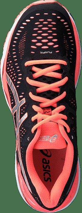 Silver 23 Røde Online Sko Sneakers Kjøp Kayano Gel Flash Black Asics Coral OUqXZqn7