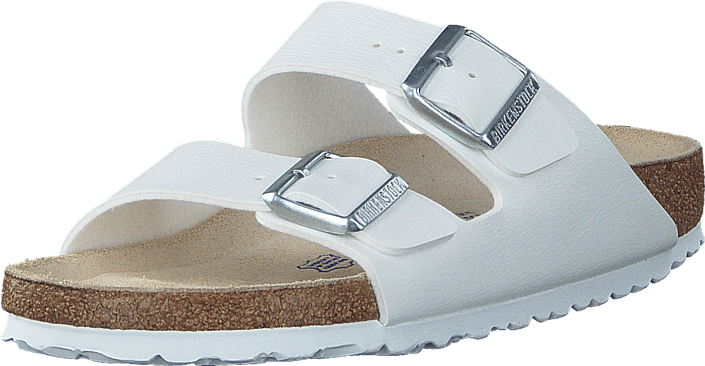 3a729441 Kjøp Birkenstock Arizona Soft Slim White beige Sko Online | FOOTWAY.no