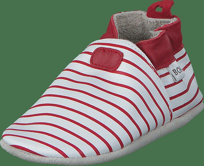Stripes White/Red