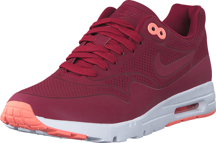 Wmns Air Max 1 Ultra Moire Noble Red Atomic Pink