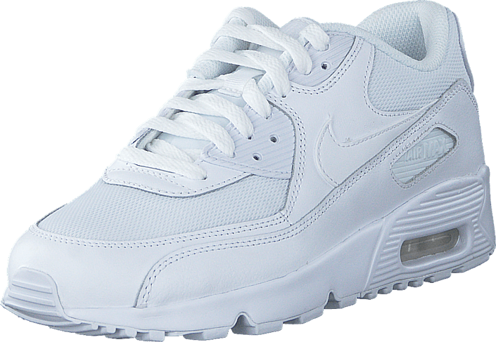 release date: fe4ef 8aed8 Nike - Air Max 90 Mesh Bg White White