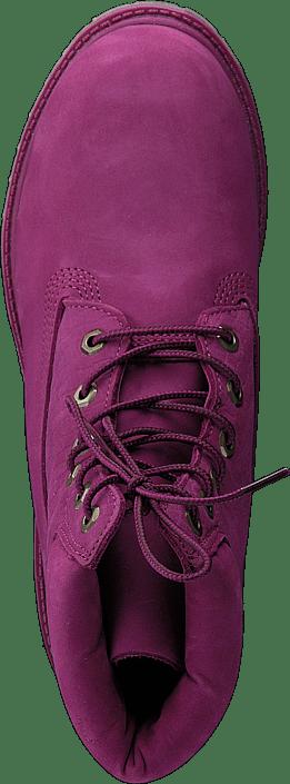 6in Premium Boot W MAGENTA PURPLE