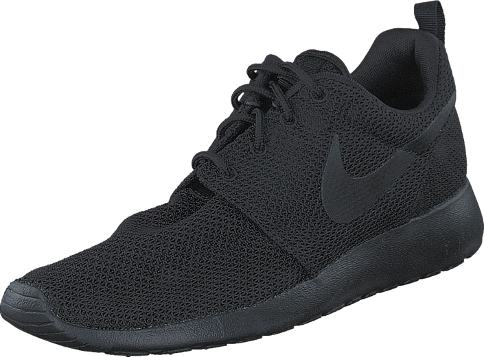 san francisco 523ec 1cb3b Roshe One Black/Black