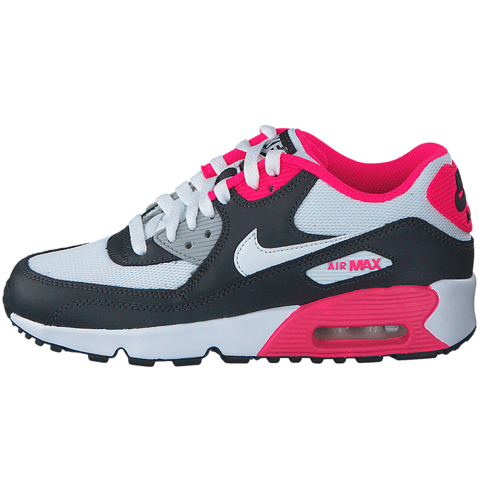 best website 4231d c42bb Buy Nike Air Max 90 Mesh Gg Anthracite White-Hyper Pink blue Shoes Online    FOOTWAY.co.uk