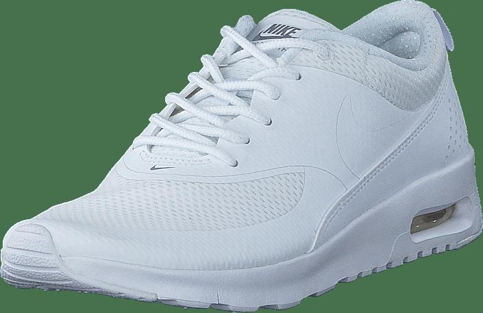 Nike Air Max Thea GG White/White-Metallic Silver