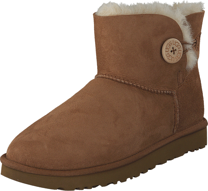 UGG - Mini Bailey Button II Chestnut