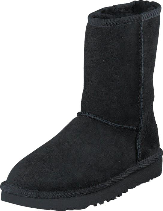 UGG Classic Short II Black, Skor, Kängor & Boots, Fårskinnsstövlar, Svart, Dam, 37