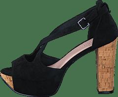 separation shoes c5936 28127 Bianco - Cross Sandal JFM17 10 Black