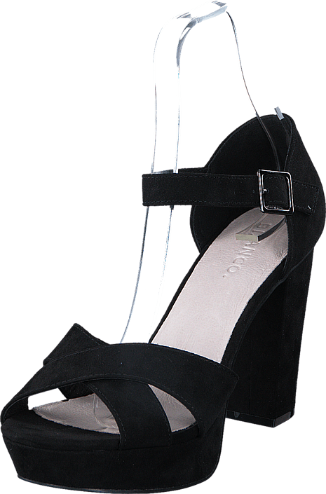 Bianco - Clean Basic Sandal JFM17 10 Black