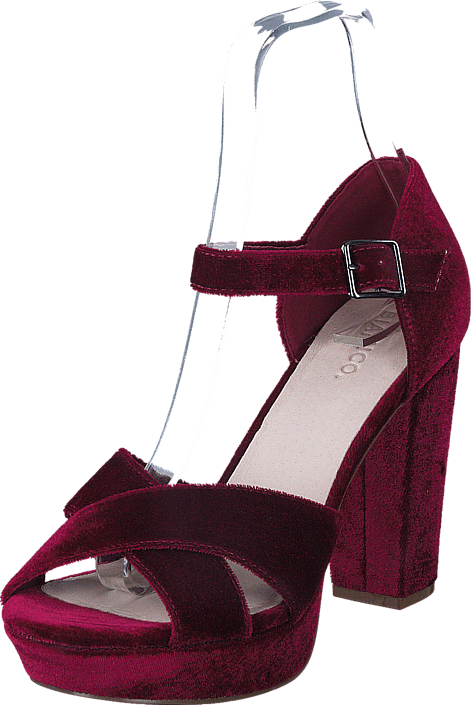 Bianco - Clean Basic Sandal JFM17 Wine Red