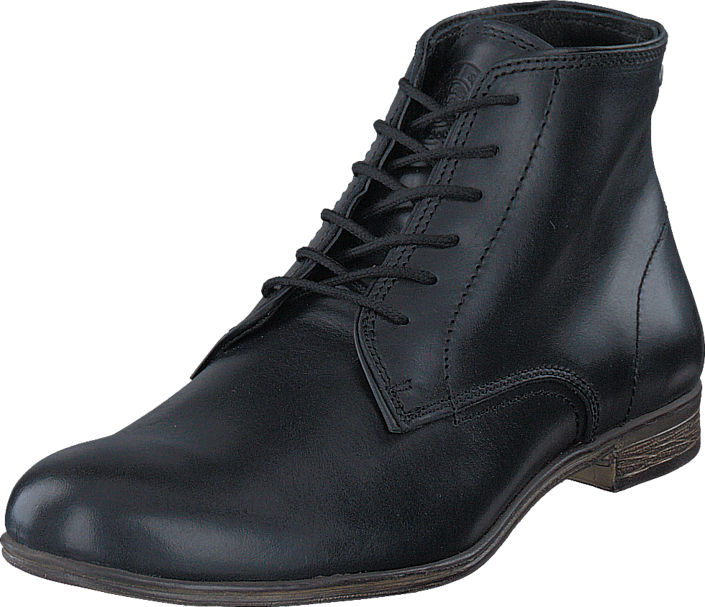 Sneaky Steve - Markham Mid Leather BLACK
