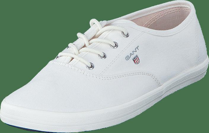 Sko G29 Hvite New Flats Gant White Haven Kjøp 14538591 Online Iq1x10vF