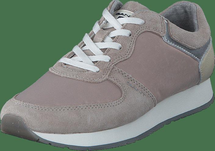 Gant 14533663 Linda skor G802 silver Cloud gråa Skor Online