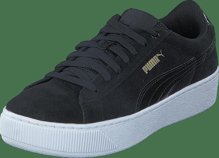 Köp Puma Vikky Platform Black Black Skor Online | FOOTWAY.se