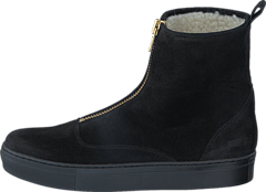 Ancle Boot Black Suede