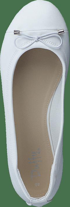 Kjøp Duffy 92-26437 White Sko Online