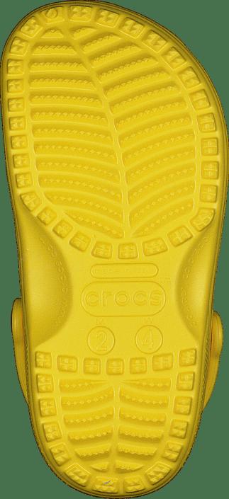 Classic Clog Kids Lemon
