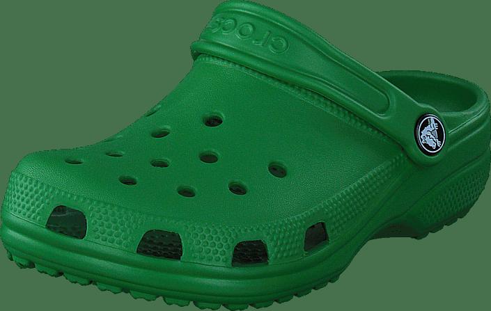 Crocs Classic Clog Kids Kelly grön gröna Skor Online