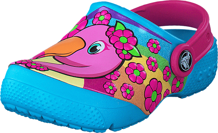 Crocs - Crocs Fun Lab Clog Flamingo/Electric Blue