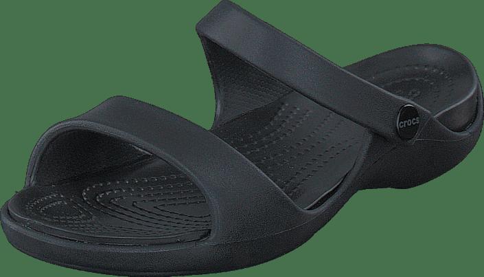 Cleo black V Online Black Crocs Sko Kjøp Sandals Sorte ZTwxP