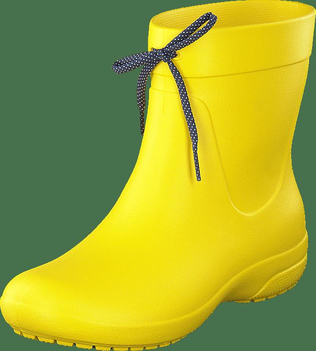 Crocs Freesail Shorty RainBoot Lemon