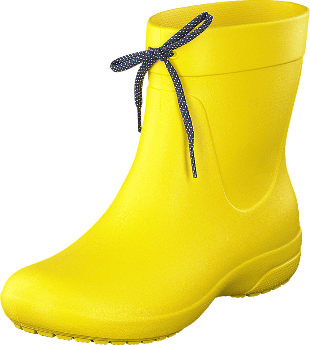 Crocs - Crocs Freesail Shorty RainBoot Lemon