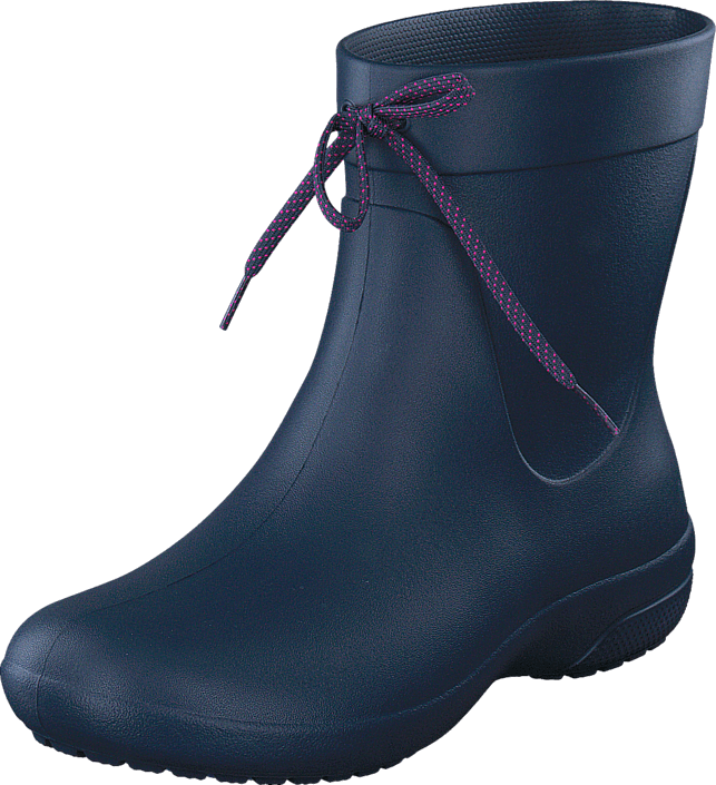 Buy Crocs Crocs Freesail Shorty RainBoot Navy blue Shoes Online ... eeb0967074