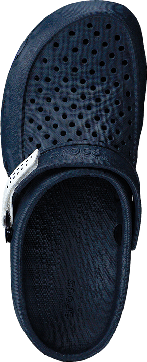 Kjøp Crocs Swiftwater Deck Clog M Navy/white Sko Online