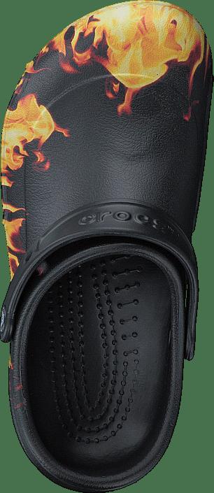 Kjøp Crocs Bistro Graphic Clog Black Sko Online