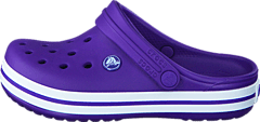 Crocband Clog Kids Ultraviolet/White