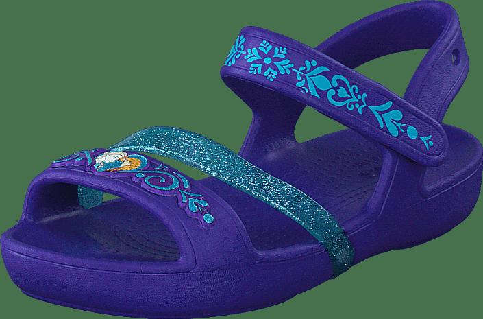 1148d981a266 Buy Crocs Crocs Lina Frozen Sandal K Ultraviolet blue Shoes Online ...