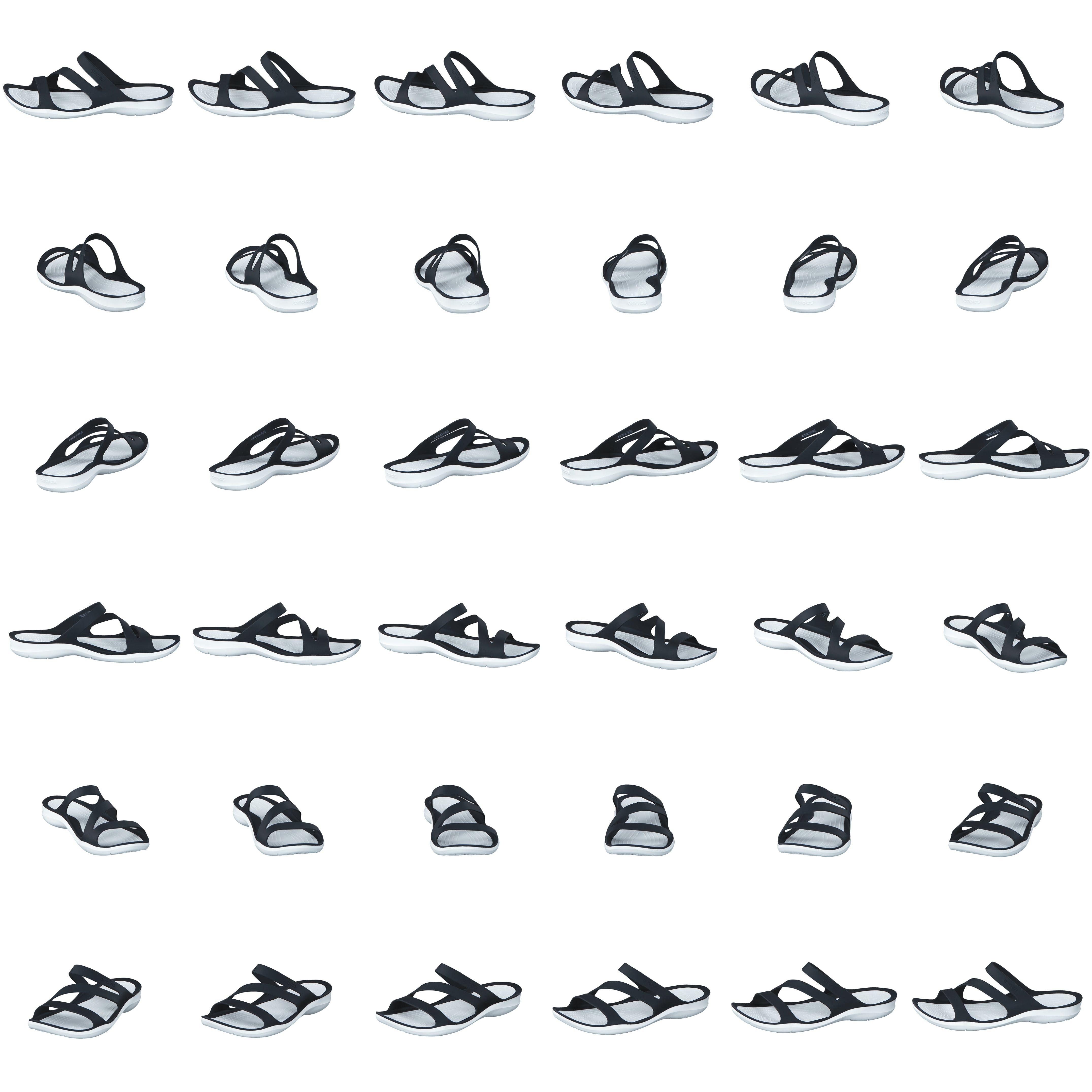 Køb Crocs Swiftwater Sandal W BlackWhite Sko Online