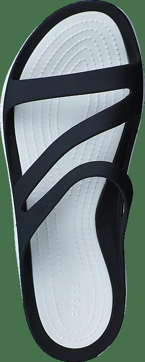 white Køb Black Online Swiftwater Sko W Og Sorte Tøfler Sandaler 57601 00 Crocs Sandal ZrqwrX4