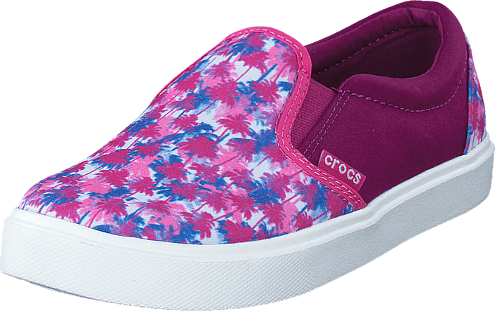 CitiLane Novelty Slip-on K Pink Palm