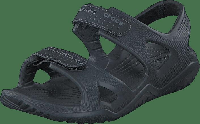 Crocs Swiftwater River Sandal M svart gråa Skor Online
