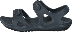 Swiftwater River Sandal M Black