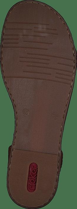Rieker - 64278-16 Pazifik/Amaretto