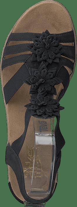 Brune Sko 62461 Online Kjøp 00 Black Rieker Heels qFRxIw4a