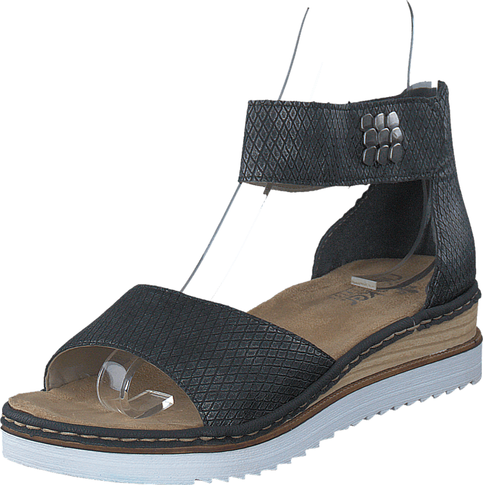 45 67985 Granit Blå Online Sandals Kjøp Rieker Sko qgpwWE