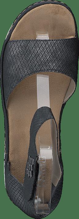 Blå Online Kjøp 67985 Sko 45 Rieker Sandals Granit OHxBCwgxq