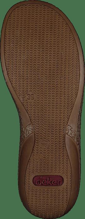 62866 Black Sko 00 Rieker Kjøp Sandals Online Brune fqOFHg8