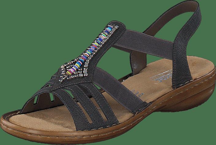 RIEKER Sandale basalt