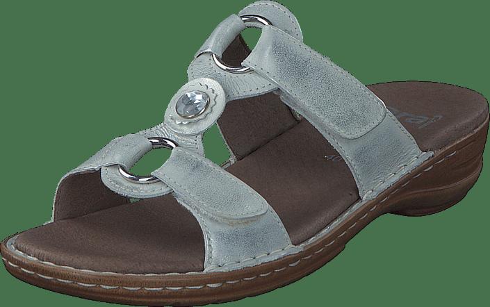 Brune Sko Kjøp Sandals white Hawaii Ara Online Silver wSHSIX